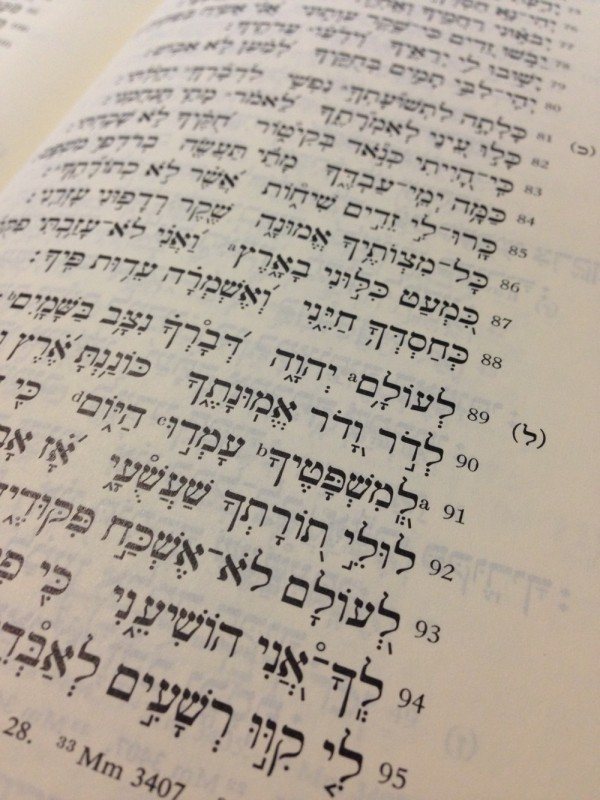 Two Productive Questions to Ask of Psalm 119 – From the Study